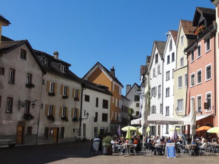 Kulinarische Alpenstadt