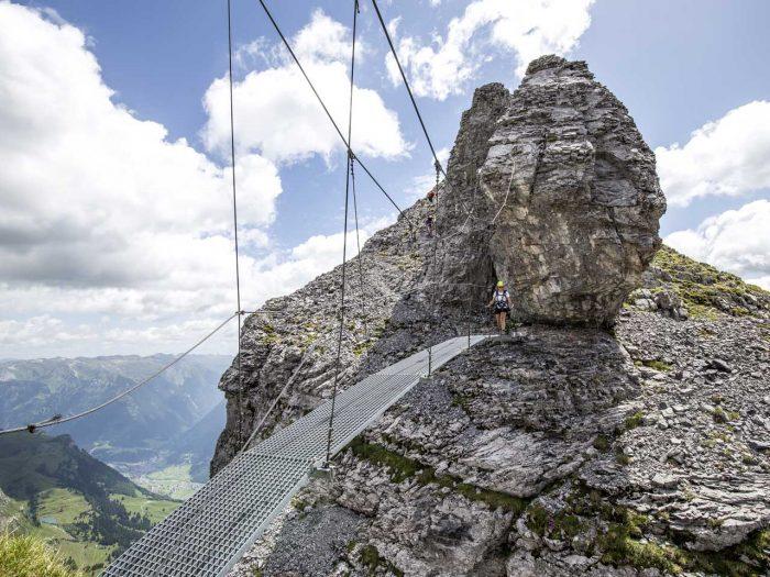 Glarner Quickie: Wandern, Klettern, übernachten in Braunwald