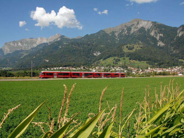 Bahnsinnige Schweiz – mit Übernachtung in Chur