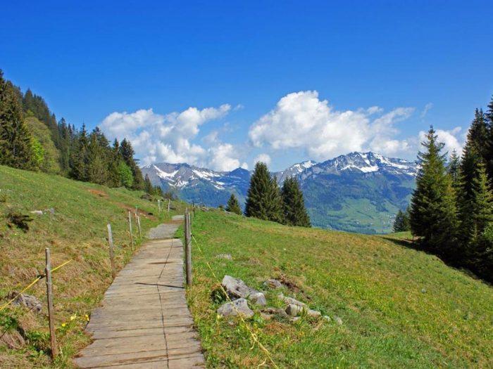 Glarner Quickie: Über Stöckli und Stein am Kerenzerberg