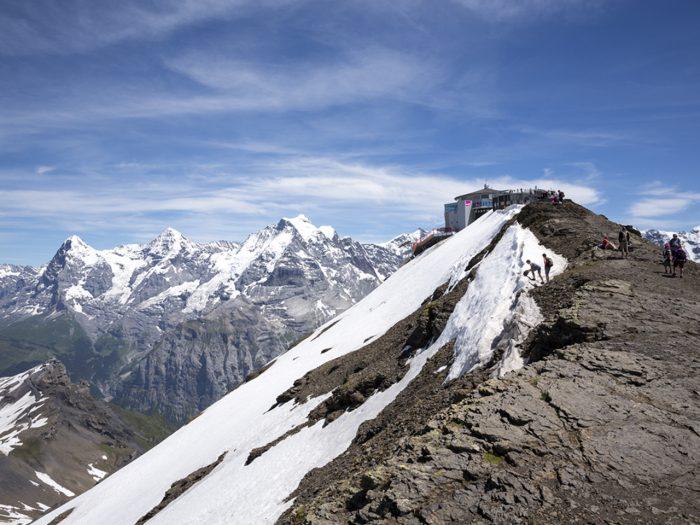 Frühstück auf 3000 Meter… und Übernachtung in der Bergwelt